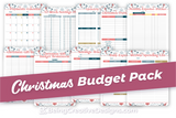 Christmas Budget Pack - Winter