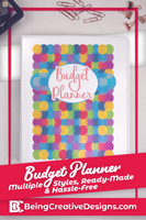 Colorful Budget Planner