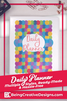 Colorful Daily Planner