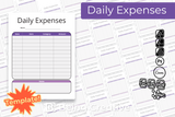 Daily Expenses Template