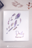 Daily Planner Feathers