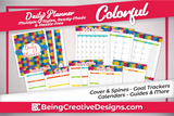 Daily Planner - Colorful