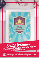 Daily Planner Vintage
