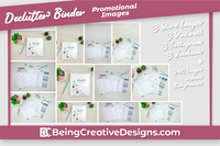 Declutter Cleaning Binder Bundle Promotional Images