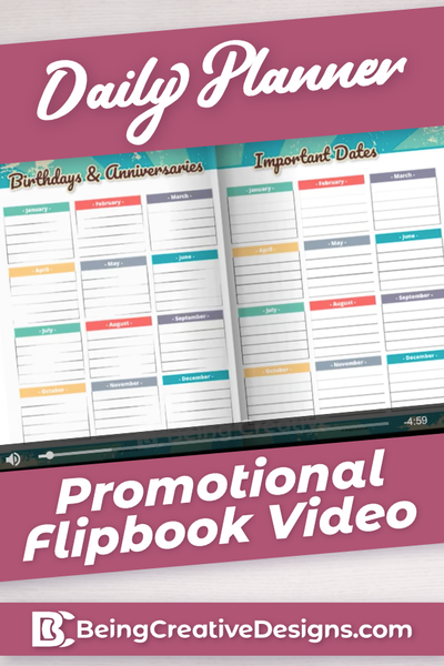 Daily Planner Promotional Video - Vintage