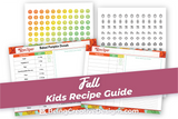 Fall Kids Recipe Guide