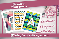 Geometric Monograms Bundle