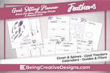 Goal Setting Planner - Feathers