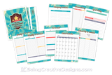 Lifestyle Starter Pack Vintage Home Management Planner