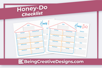 Honey-Do-Checklist