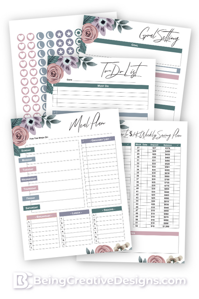 Lifestyle Opt-in Variety Pack - Floral Style