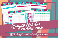 Lifestyle Opt-In Variety Pack Bright