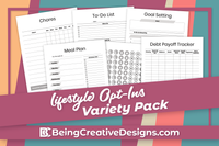 Lifestyle Opt-ins - Minimal Black and White