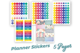 Lifestyle Starter Pack Planner Stickers