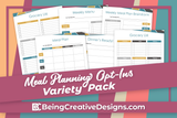 Meal Planning Opt-in Variety Pack - Geometric