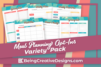 Meal Planning Opt-in Variety Pack Vintage