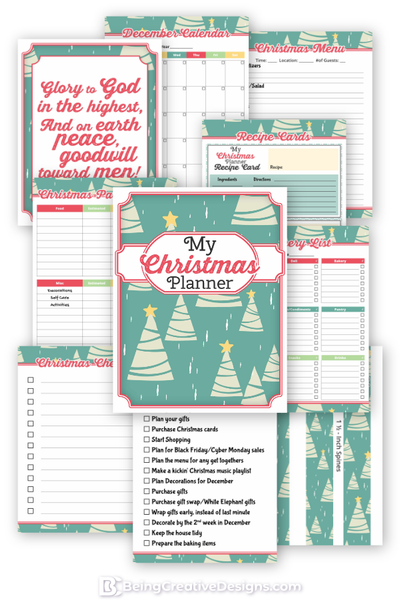 My Christmas Planner