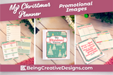 My Christmas Planner Promotional Mockups - Trees