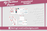 My Christmas Planner Promotional Mockups - Winter