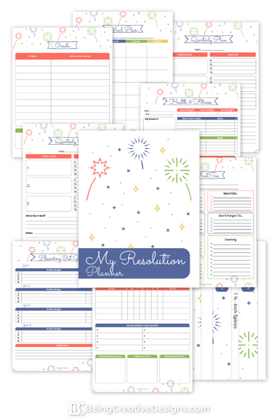 Resolution Planner {25+ Pages} - Minimal