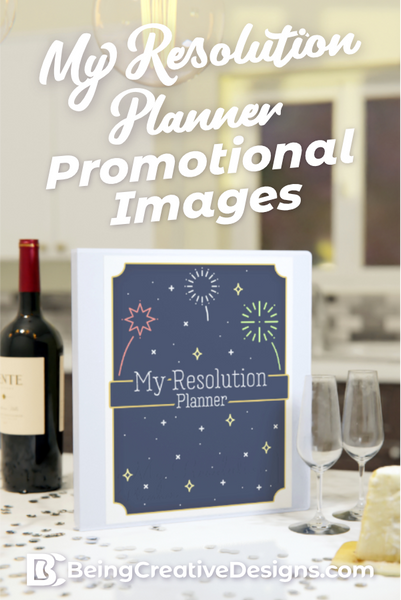 My Resolution Planner Promotional Mockups