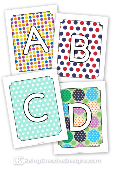 Polkadot Monogram Bundle