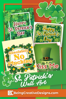 St. Patrick's Day Wall Art
