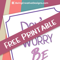 Wall Art Printable for bloggers