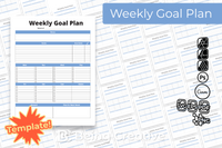 Weekly Goal Plan Template
