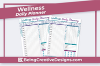 Wellness Daily Planner