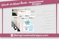 Work at Home Binder Promotional Mockups