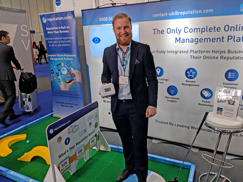 Crazy golf hire for trade shows and exhibitions