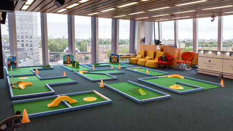 Putterfingers crazy golf hire