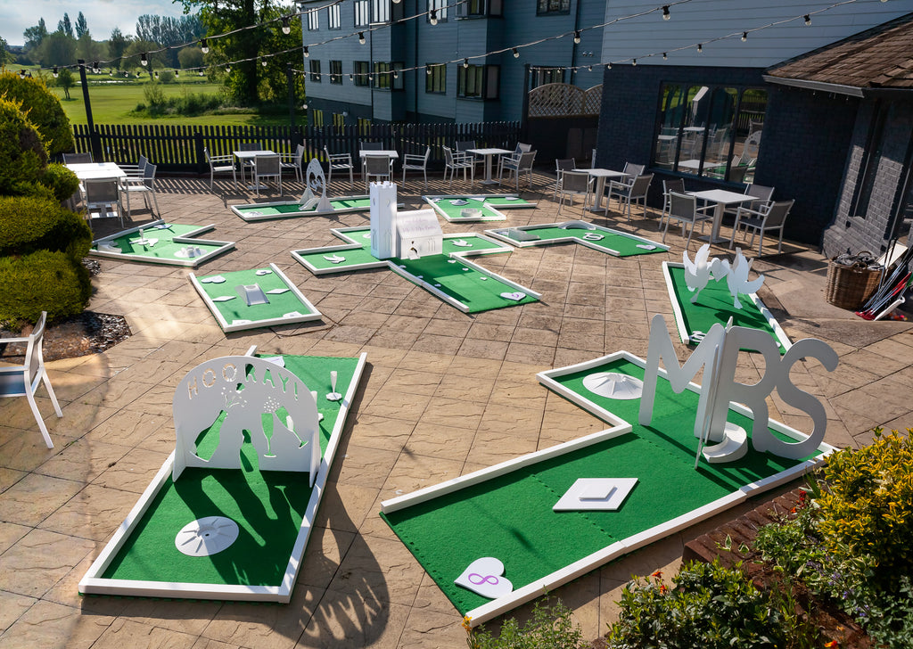 Wedding Golf Obstacles