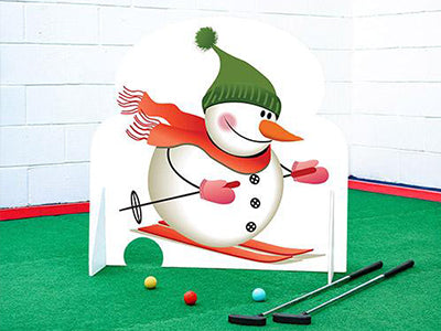 Christmas Crazy Golf indoor courses