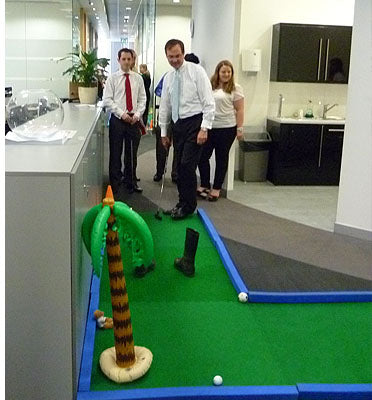 Corporate Hire of Crazy Golf Courses