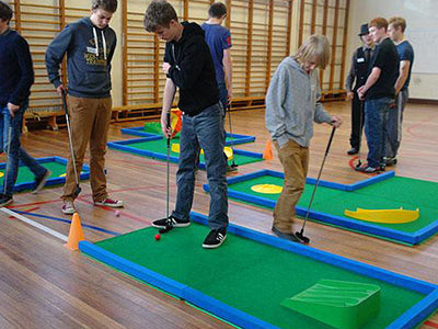 Mini Golf Courses For School Fun Days