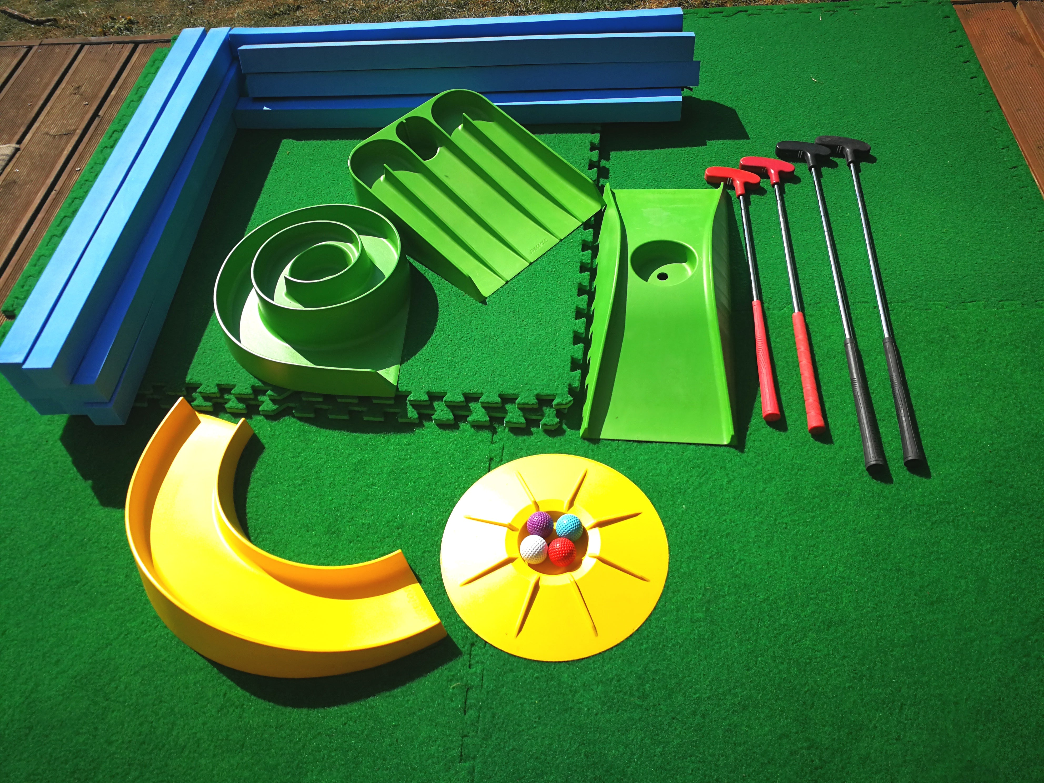 Mega Home Mini Golf Set