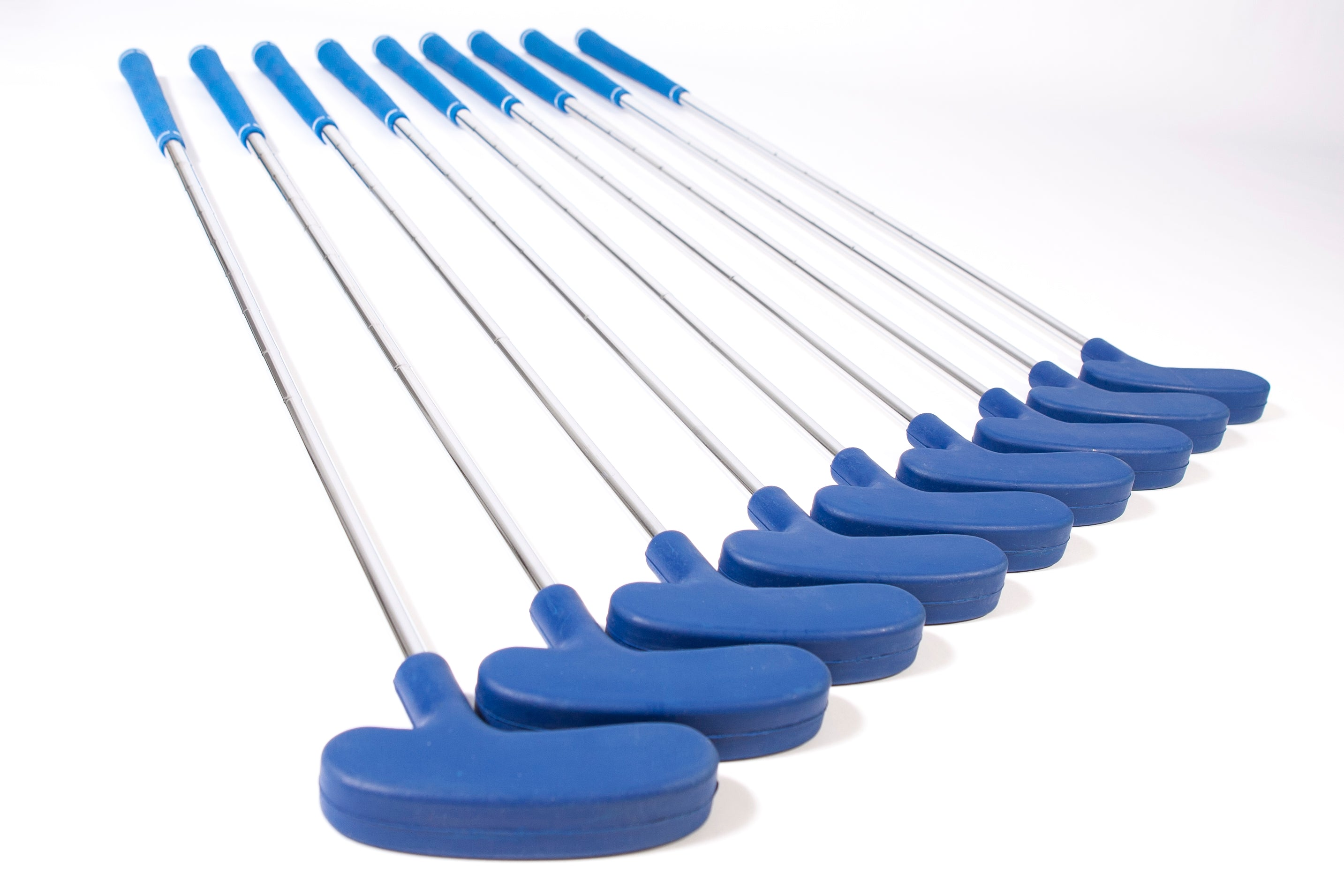 "Bundle of 9 XL Adult Rubber Headed Putters (Blue 37"") - Event Stuff Ltd Owns Putterfingers.com!"