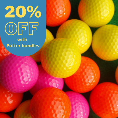 20% OFF Floater Golf Balls (Pack of 50)