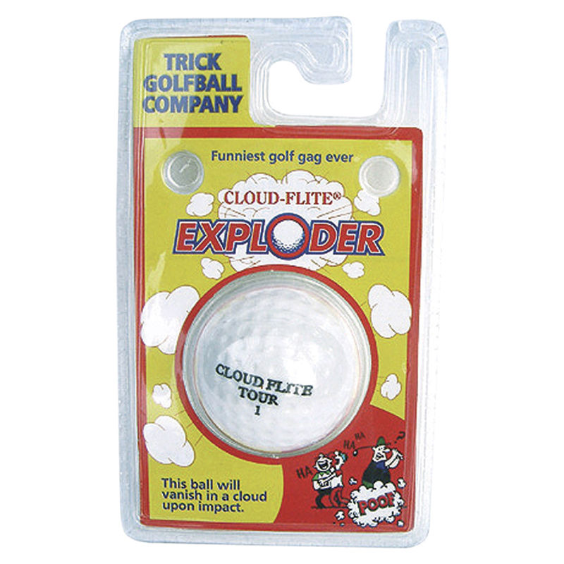 Exploder Trick Golf Ball - Putterfingers.com
