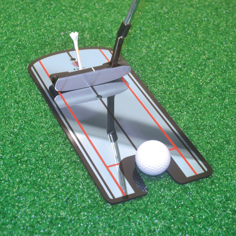 Tour putting mirror golf training aid