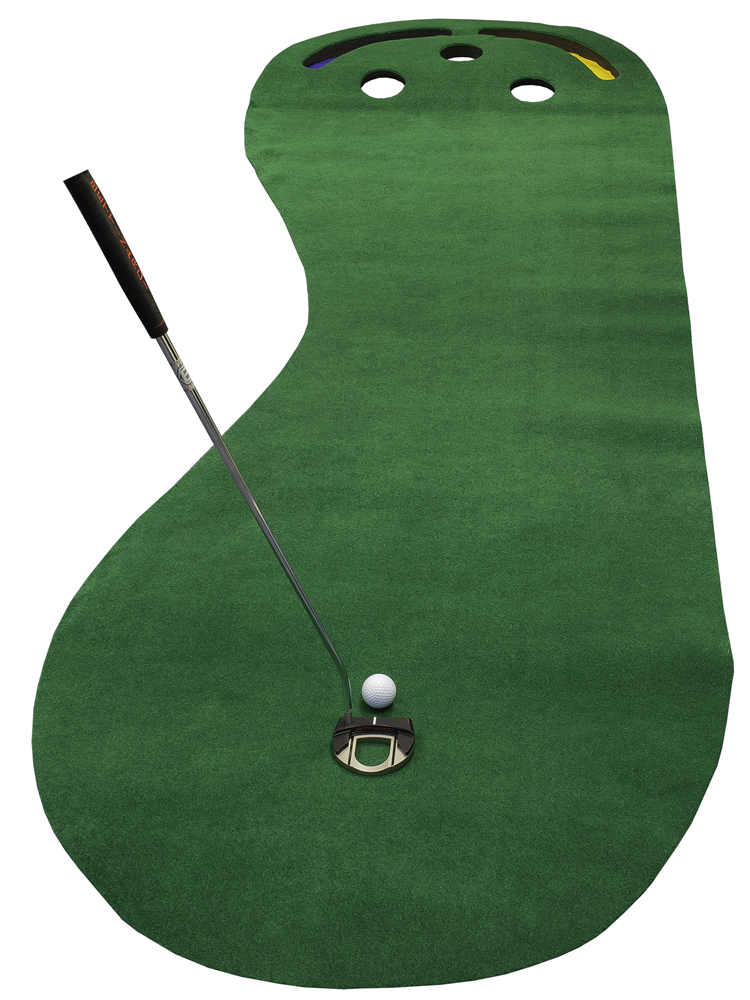 Par 3 deluxe putting green golf training aid
