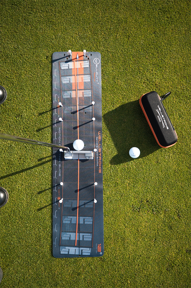 Wellstroke golf training mat