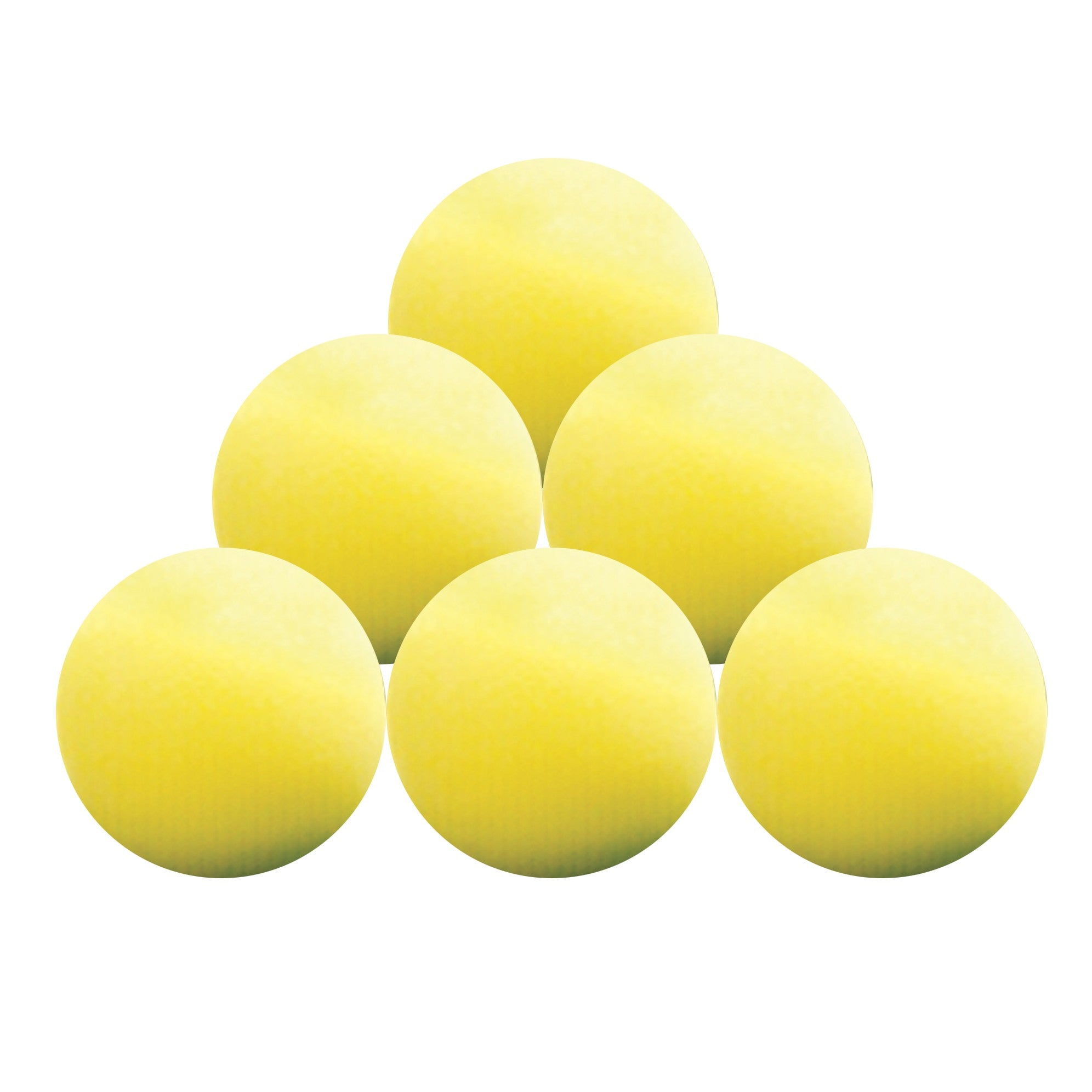 Practice Foam Balls (Pack of 6) - Event Stuff Ltd Owns Putterfingers.com!