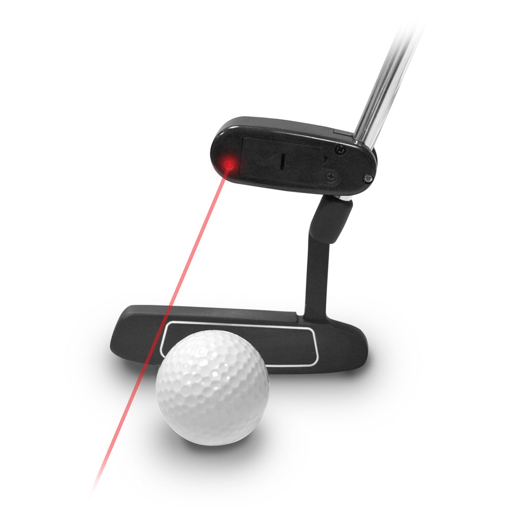 Laser putting guide golf