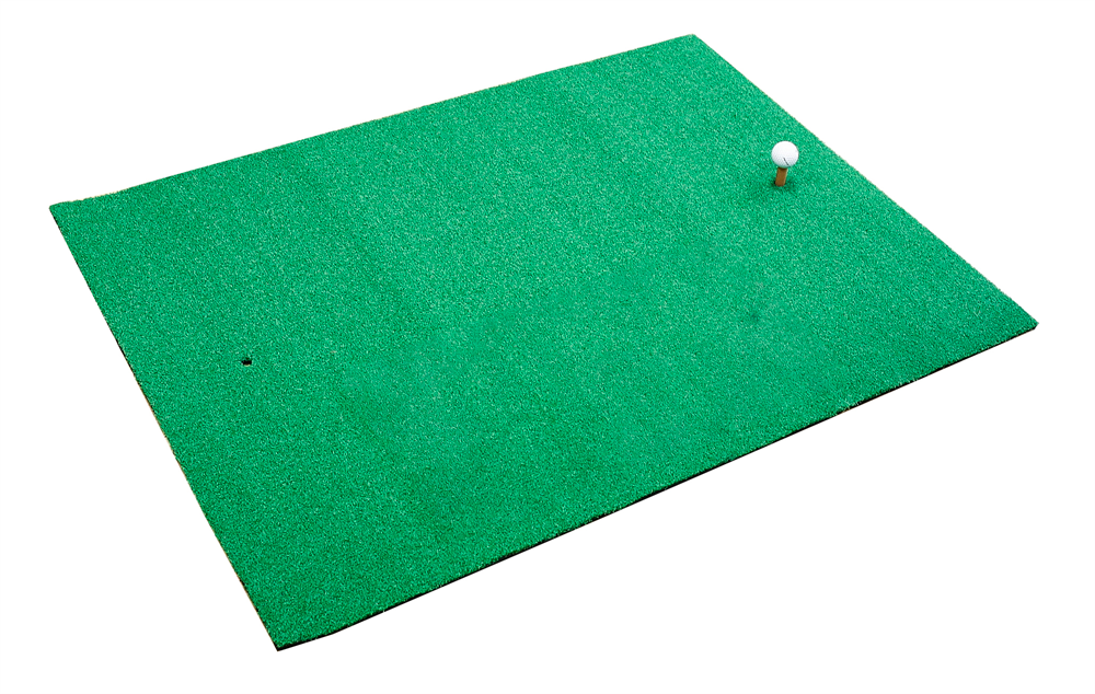 Large chip drive practice mat golf