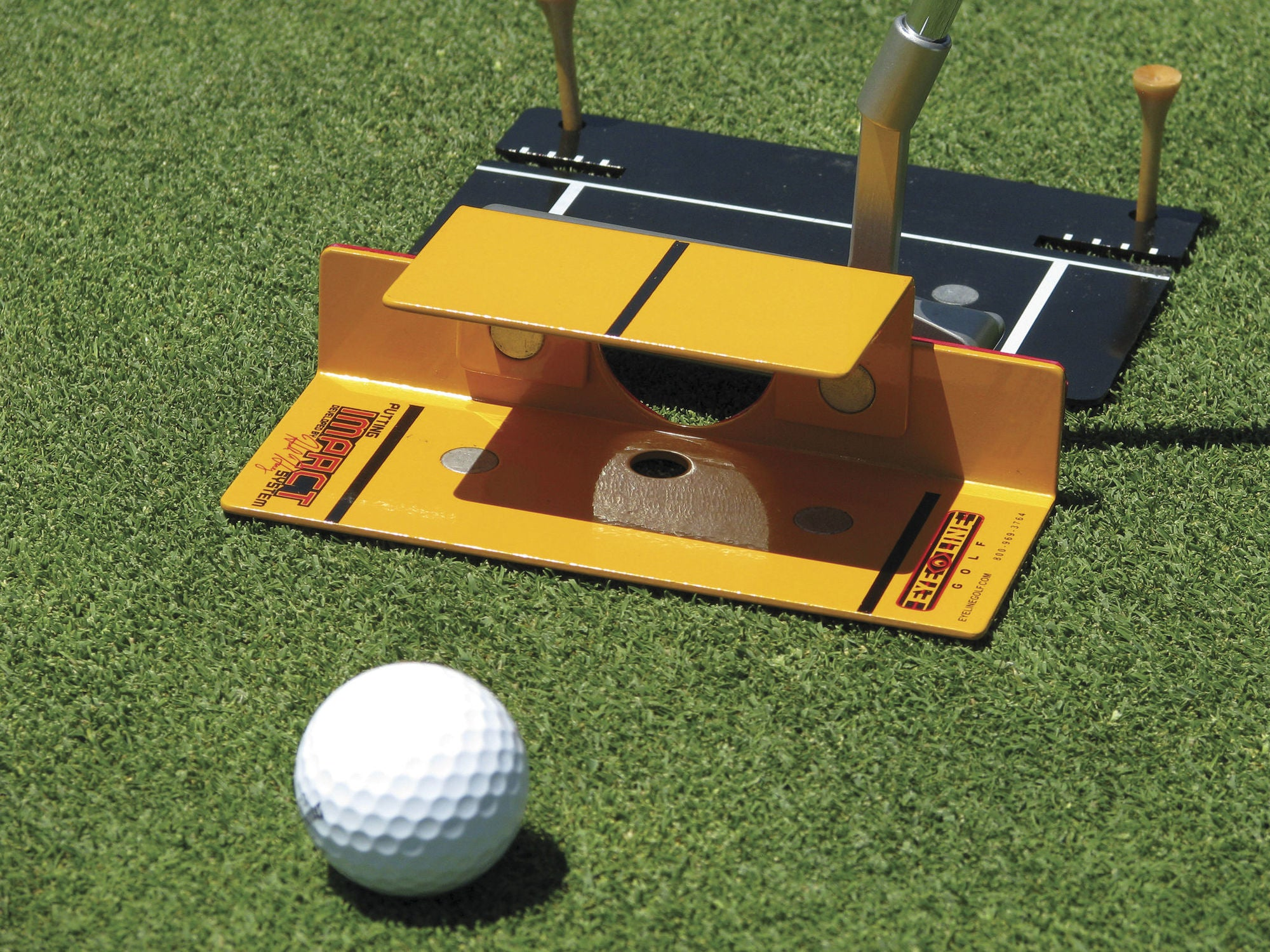 Eyeline Golf - Putting Impact System - Putterfingers.com