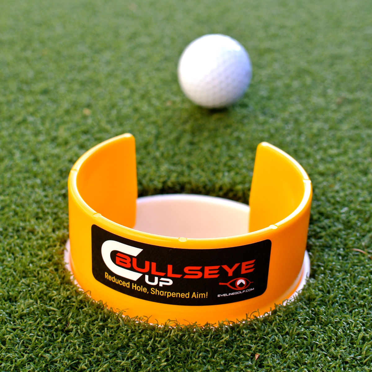 Eyeline Golf - Bullseye cup - Event Stuff Ltd Owns Putterfingers.com!