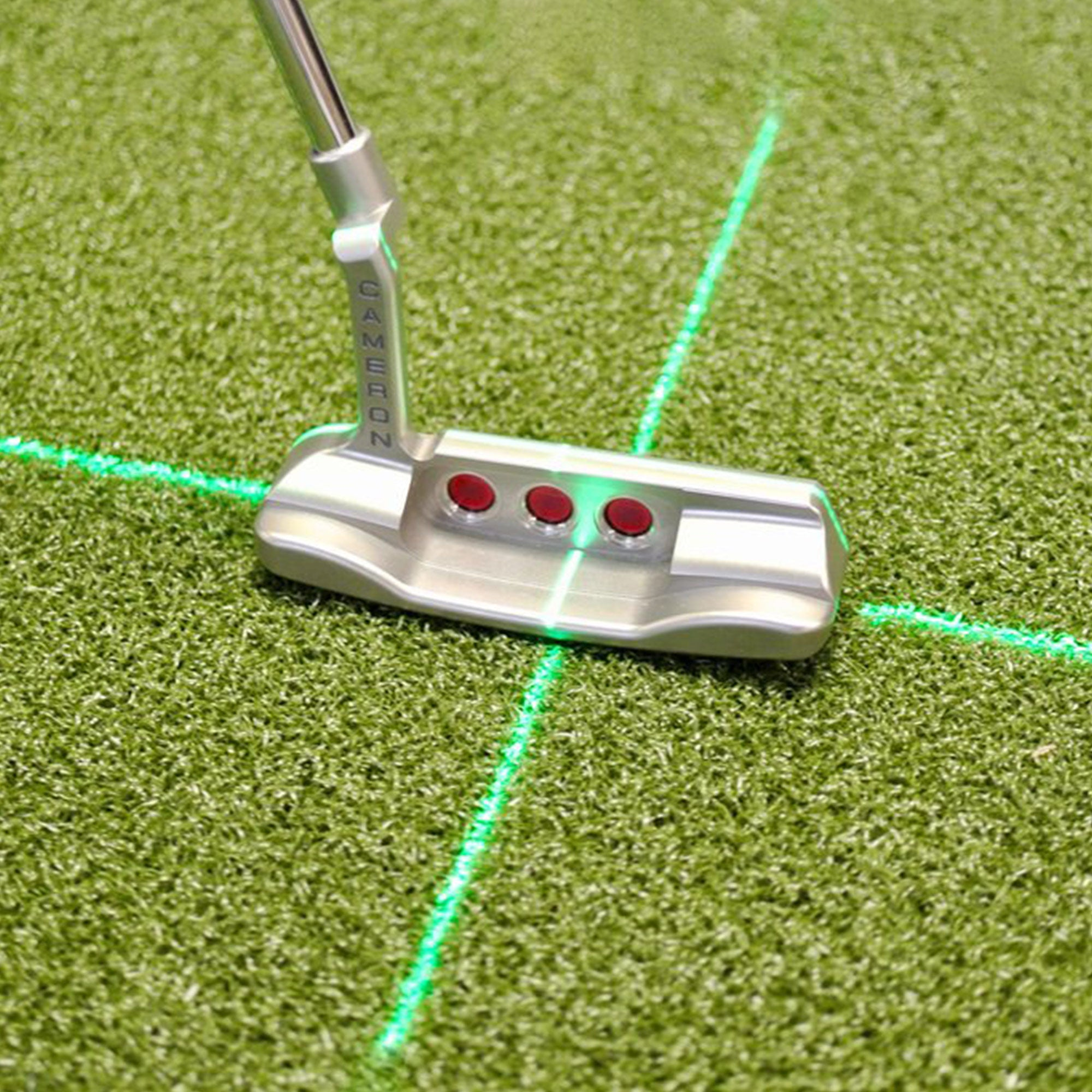 EyeLine Groove Putting Laser + (Green) - Event Stuff Ltd Owns Putterfingers.com!